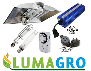 1000w Air CoolTube GROW LIGHTS System including bulbs, ballast,