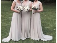 Bridesmaids dresses and shoes