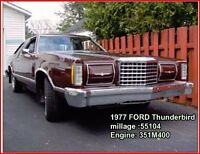 1977 Ford Thunderbird Coupe (2 door) MUST SELL SOON