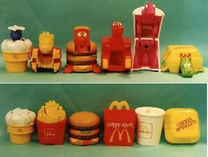 Vintage McDonald's Toys from the 70's to 90's
