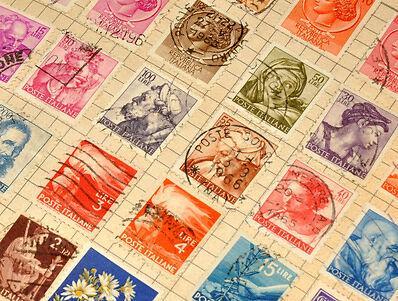 Wie man Hilfs- und Prüfgeräte für Briefmarken auf eBay findet