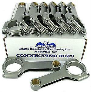 - Eagle Connecting Rod Set CRS6125O3D; H-Beam 6.125