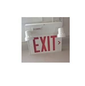 LUMACELL Single FACE Exit Sign