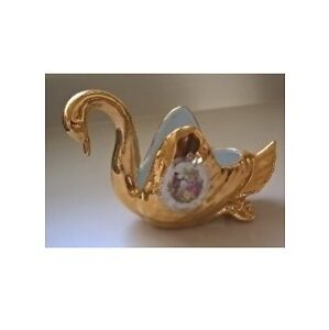 Golden Romance - Golden Swan with Serenade Scroll