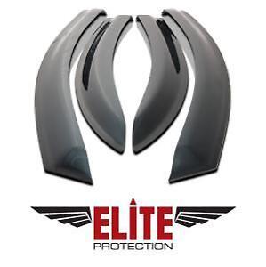 Elite-Déflecteurs de porte Fumés (4) F150 SuperCrew 15-18 e94092