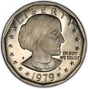 1979 Type 2 Susan B Anthony Proof