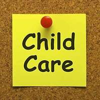 Openings available in Quality child care