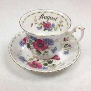 Royal Albert Bone China Flower of The Month & Royal Albert Bone China | eBay