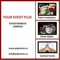 CASINO NIGHTS AND POKER EVENT SPECIALISTS
