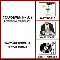 Bartending and Rental Services @ Your Event Plus