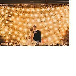 23 foot Clear Transparent C9 Starry Light Wedding Gardens Party