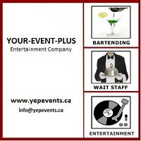 EVENT STAFF & RENTALS -- YEP SERVICES