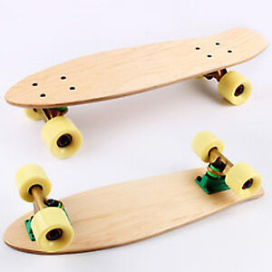 "Custom Made Wooden 27"" Cruiser / Penny Board"