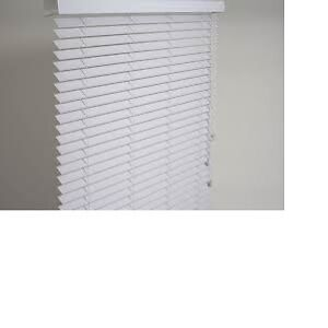 """***Brand new 1"""" & 2"""" Horizontal blinds, aluminum, faux/real wood"""