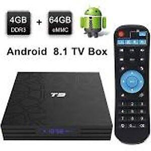 New T9 4K 4GB RAM/64GB ROM Android 8.1 TV Box