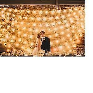 NEW 20 foot 2 inch  Clear Transparent led Starry Light Wedding Gardens Party
