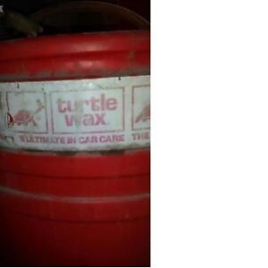one and a half barrels of turtle wax with pump, waxing Car Care Kitchener / Waterloo Kitchener Area image 2