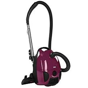 Dirt Devil canister bagged vacuum cleaner.