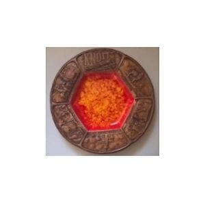 Vintage Orange Treasure Craft KNOTTS Berry Farms & Ghost Town