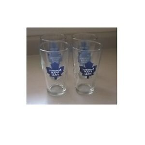 NHL Toronto Maple Leafs Set of 4 16 oz Ale Glasses