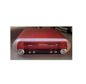 Samsung Red Transparent VCR Video Cassette Recorder