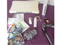 Wii consola + wii fit +games