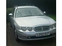 Rover 75 estate 2L diesel BMW engine