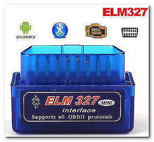 OBD2 ELM327 Engine Scanner Bluetooth -Android-Windows $15