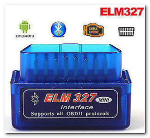 OBD2 ELM327 II Engine Scanner Bluetooth -Android-BlackBerry10-Pc
