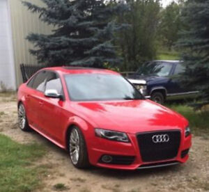 2011 S4  6 Speed Manual