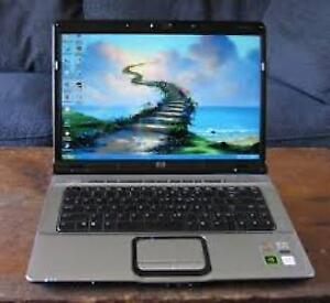 Beautiful HP Laptop,WebCam, C2D 1.73GHz/2G/160G/New Battery