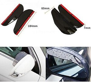 For Sell Universal Car Rear View Side Mirror Rain Board Black Su