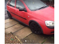 Vauxhall Corsa 1.2 5DR SXi 2002 registered 51 plate for Sale.