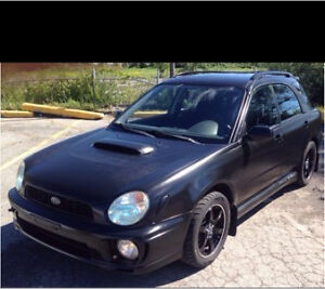 2002 Subaru Impreza wrx  5000$ obo
