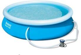 Fast Set Round Plastic Pool