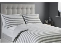 BRAND NEW JERSEY SILET NIGHT SUPERKING DUVET SET RRP £35