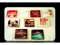 MUSIC CDS - LOVE SONGS - (20 discs) - FOR SALE