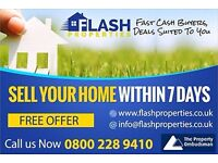 We Buy Properties For Cash, Any Condition & Location - No Fees, Get Offer Within 24 Hours Now