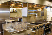 Commercial Kitchen EXHAUST hood Installation and fire Separation