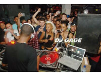 DJ GAGE FOR all occasions CALL 07988679961- wedding - birthdays -private party and more