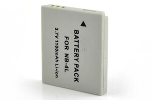 NB-4L BATTERY FOR CANON PowerShot SD450 SD200 SD40