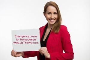 Emergency Loans for Homeowners - ODSP, Self-employed, all welcom