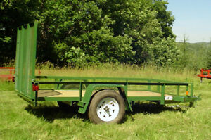 5x 10 utility trailer with gate