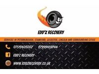 24/7 Edd'z recovery, breakdown and vehicle transportation services with affordable prices!