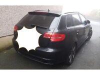 Audi a3 black edition rep damaged