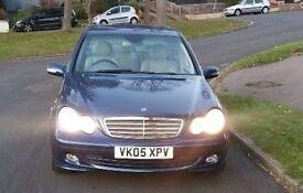 *LOW MILES* Mercedes Benz C Class C220 CDI Classic SE 4dr Auto 2005 - Blue - 1 PREVIOUS OWNER