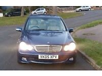 *LOW MILES* Mercedes Benz C Class C220 CDI Classic SE 4dr Auto 2005 - Blue - 1 PREVIOUS OWNER