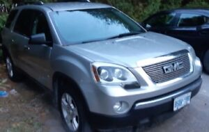 GMC Acadia parting out