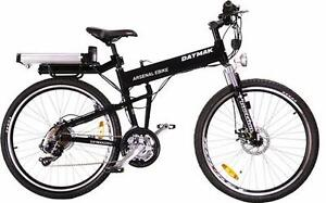 ARSENAL FOLDABLE FRAME ELECTRIC PEDAL ASSIST BIKE AVAILABLE AT EBIKES BARRIE- WE DELIVER AND FINANCE