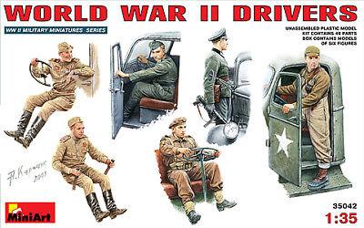 Miniart 1/35 WWII Drivers # 35042